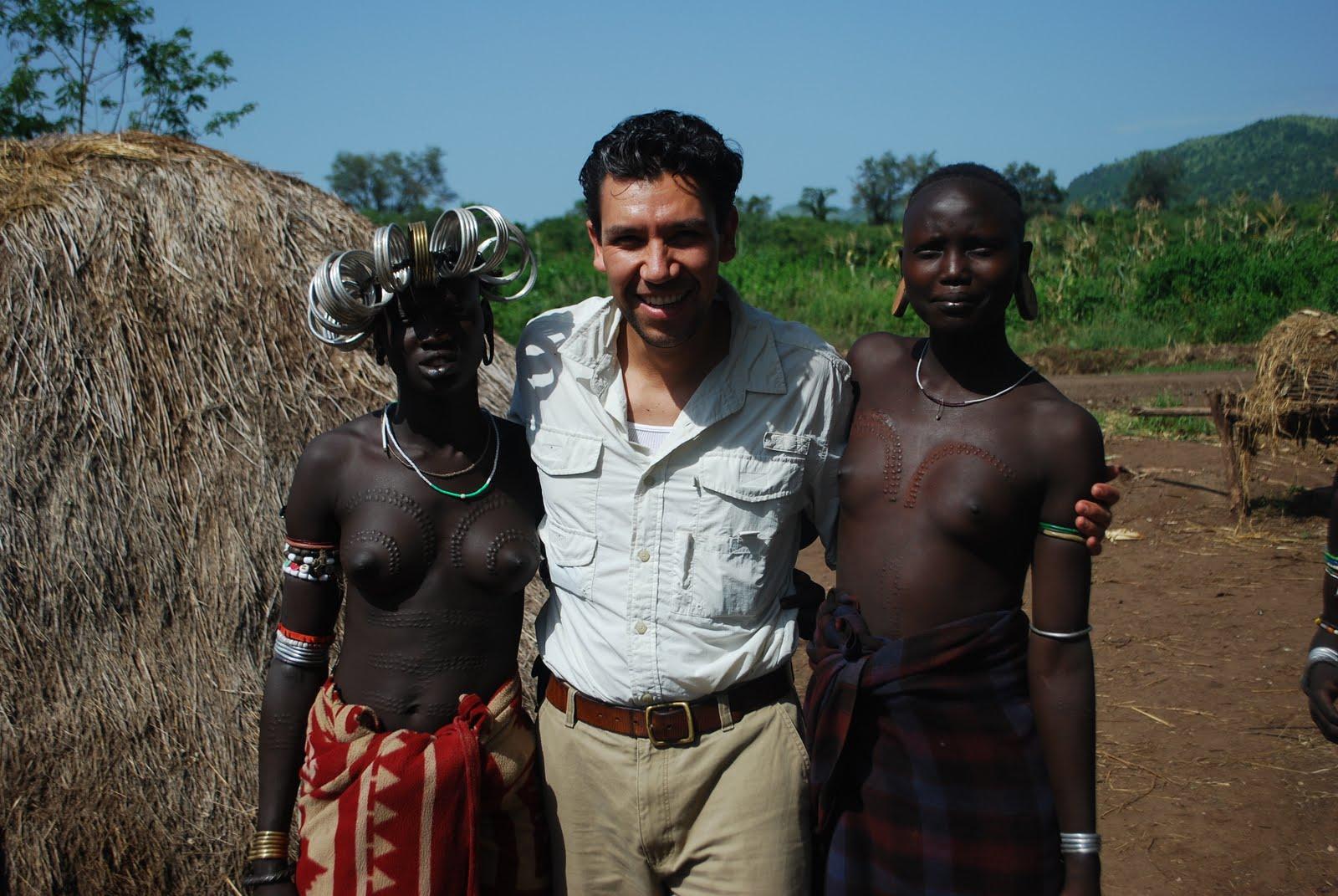 Ебля племён африки 3др